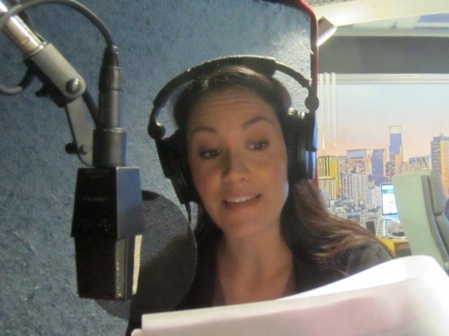 Me in the recording studio
